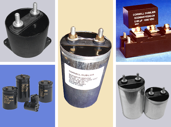 CDE Film capacitors