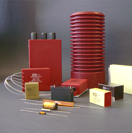 CEI high voltage mica capacitors